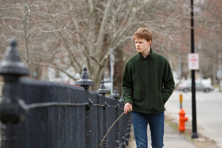 """Hedges in """"Manchester by the Sea."""""""