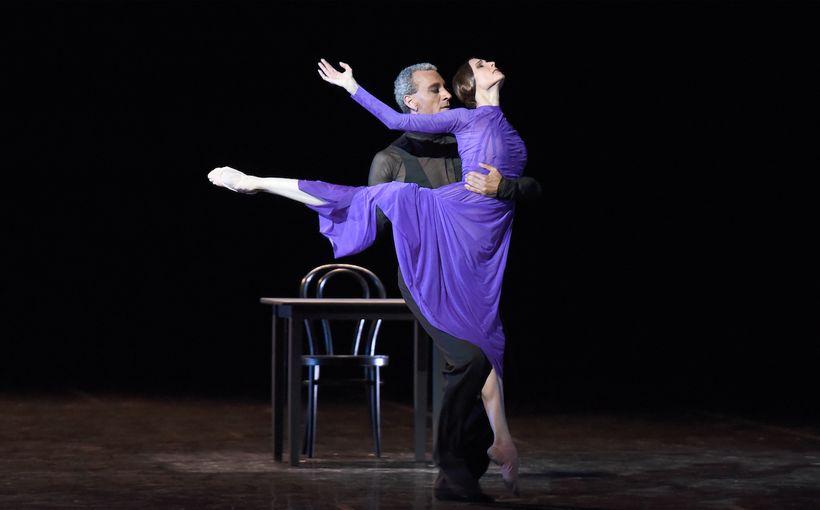 "Svetlana Zakharova and Patrick de Bana in ""The Rain Before It Falls"""