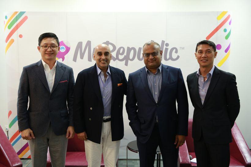 Left to Right:  Tan Shau En (Executive Director, IP ValueLabs), Ali Ijaz Ahmad (Co-Founder, CEO, Makara Capital) Malcolm Rodr