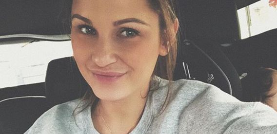 Sam Faiers Shares Breastfeeding Selfie After Pulling Over To Feed Newborn Daughter In