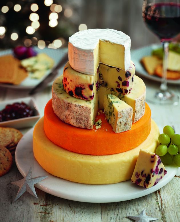 This 30 Tiered Cheese Cake Is All We Need For Christmas Huffpost Uk