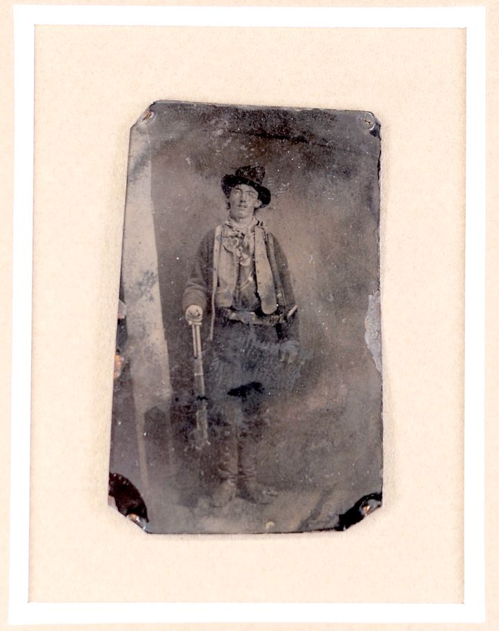 In 2011this picture of Billy the Kid was auctioned for $2.3million
