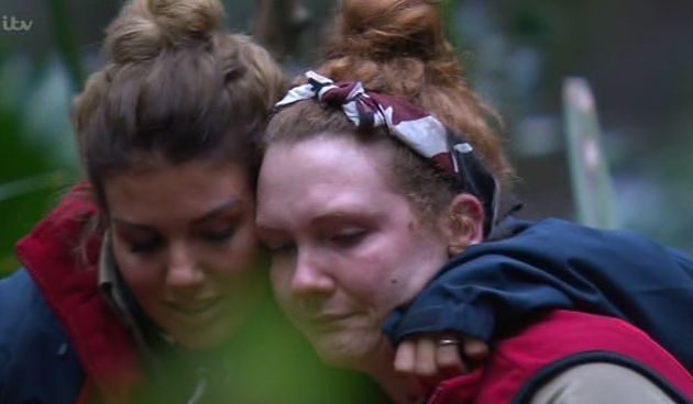 I'm A Celebrity: Jennie McAlpine breaks down in tears over son