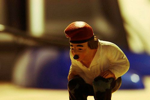 """A caganer is a traditional nativity figure in Catalonia. Licensed under <a href=""""https://www.flickr.com/photos/adriagarcia/2471793650/"""">CC BY-SA 2.0</a>."""