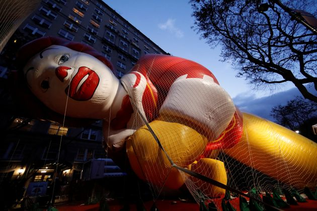 The 'Before' Photos Of The Macy's Thanksgiving Parade Are Creepy And