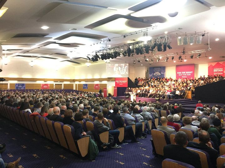 <strong>Around 1,500 people attended the rally in West Bromwich</strong>
