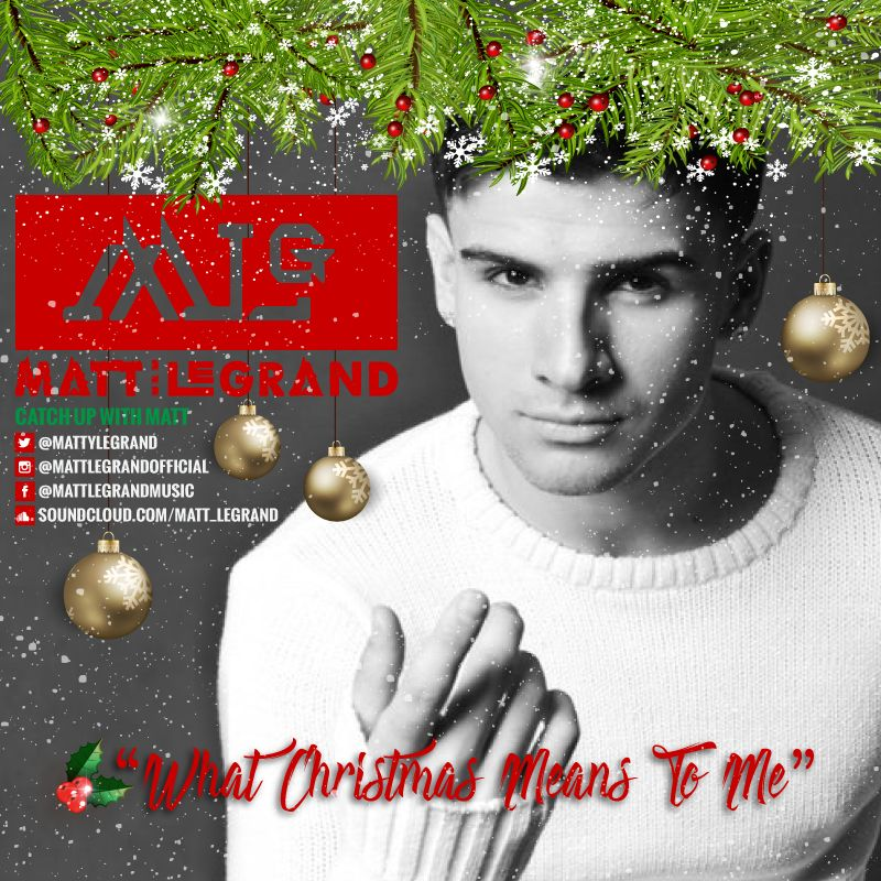 exclusive music video premiere what christmas means to me matt legrand energizes the holidays with marvelous pop music huffpost