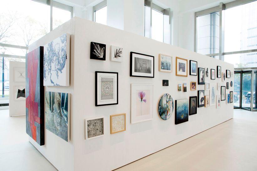 "Installation shot, ""Through the Eyes of an Artist"""