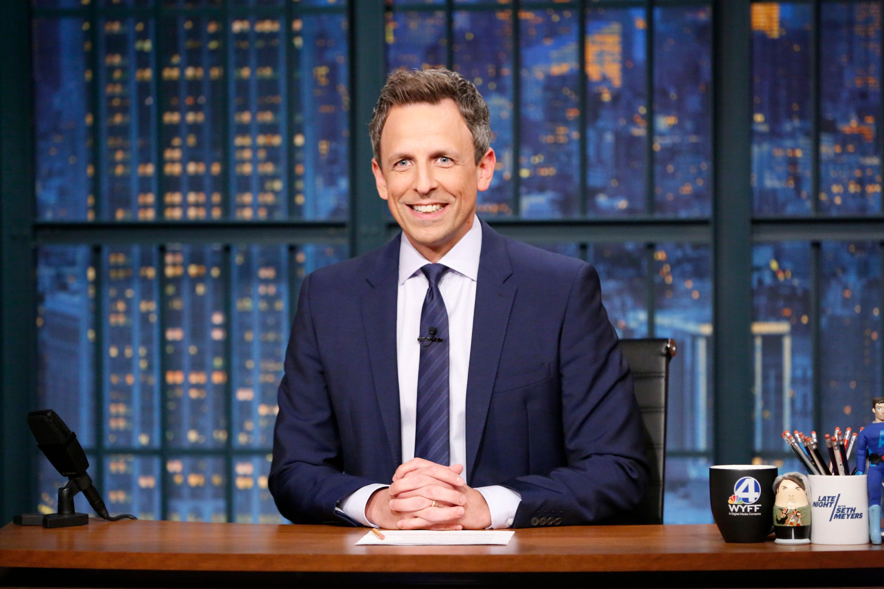 Seth Meyers To Host 2018 Golden Globe Awards