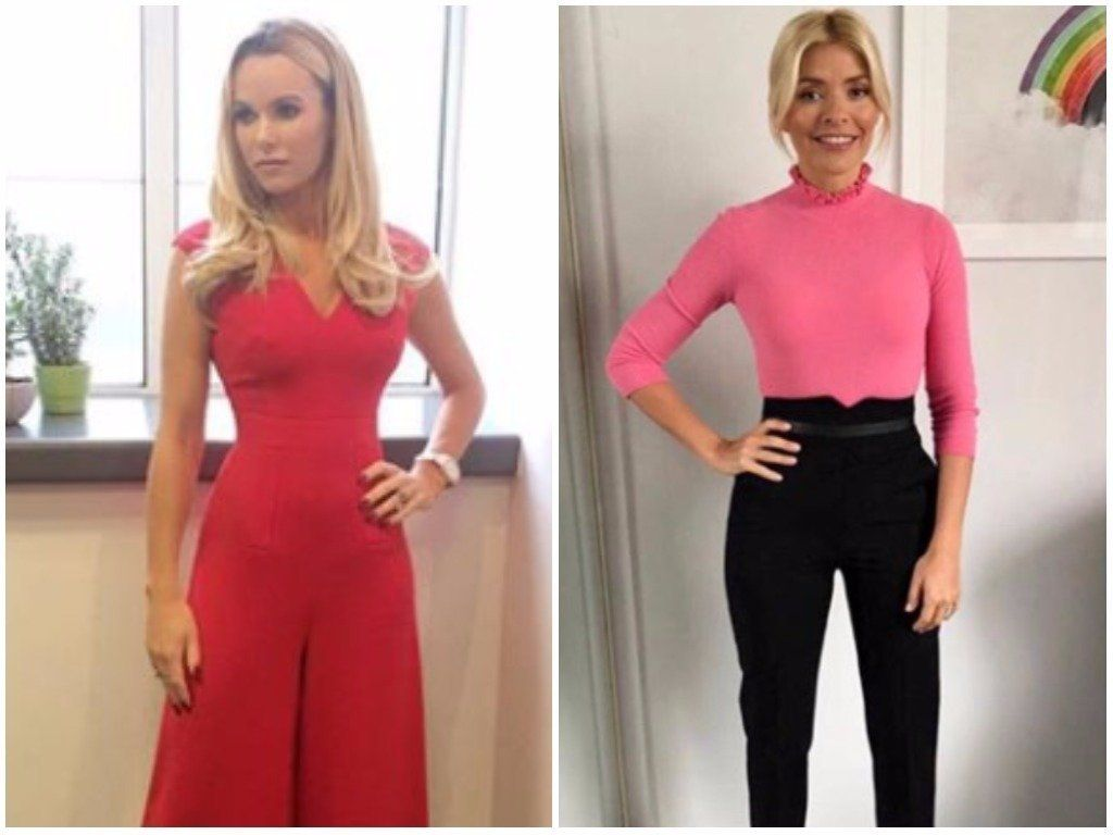 Amanda Holden Reveals The 'This Morning' Dress Code Rule That Holly Willoughby Often