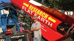 This Weekend A Man Will Strap Himself To A Homemade Rocket To 'Prove' The Earth Is