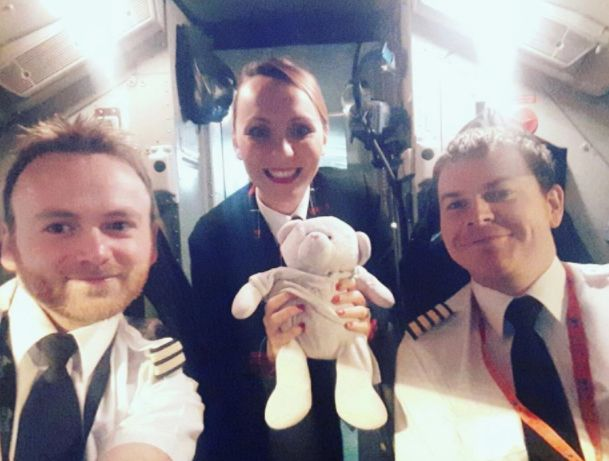 Teddy Given VIP Treatment By Cabin Crew After Four-Year-Old Left It In An