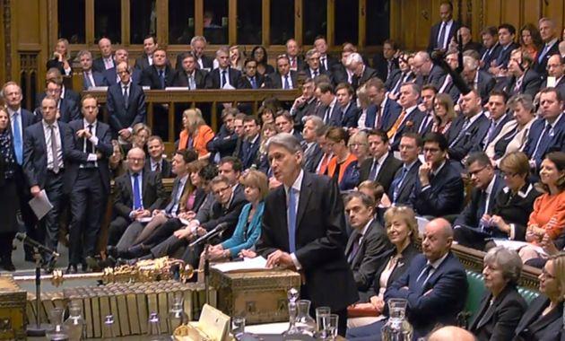 Chancellor Philip Hammond said