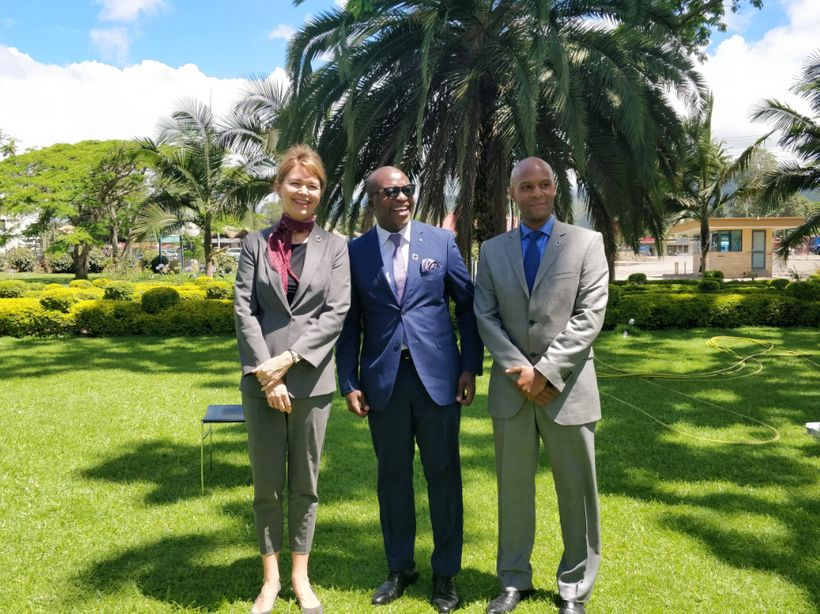 Meeting with Hon. Antony Mavunde,  Deputy Minister of State in the Prime Minister's Office, Tanzania, and  Patrick Ngowi,