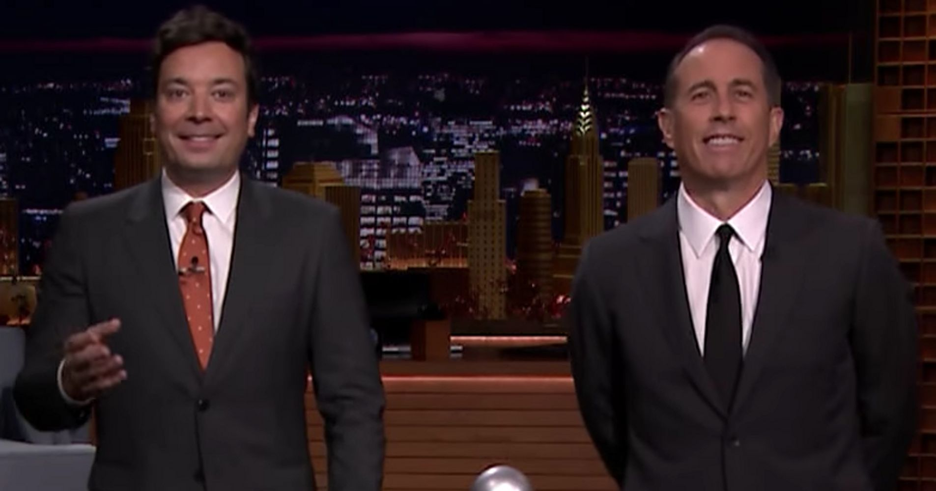 Jimmy Fallon And Jerry Seinfeld Try To Out-Seinfeld One Another