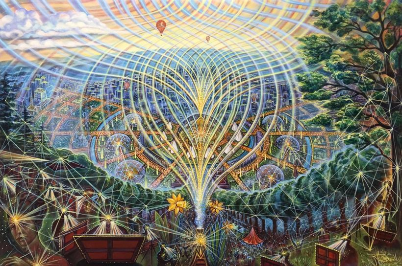 "Visionary Artists like <a rel=""nofollow"" href=""http://amandasage.com/"" target=""_blank"">Amanda Sage</a> help us to imagine wha"
