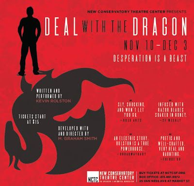 Poster art for Kevin Rolston&#39;s <strong><em>Deal With The Dragon</em></strong>