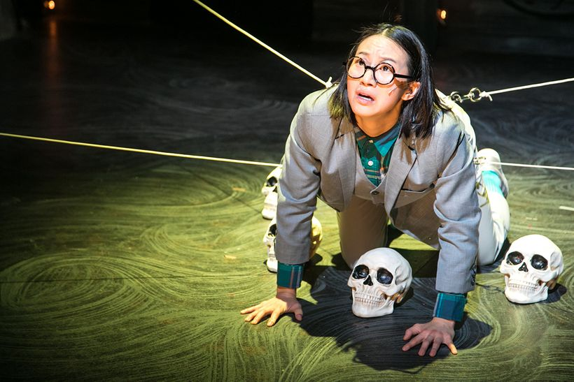 Grace Ng (Wilhelm) in a scene from <strong><em>The Black Rider</em></strong>