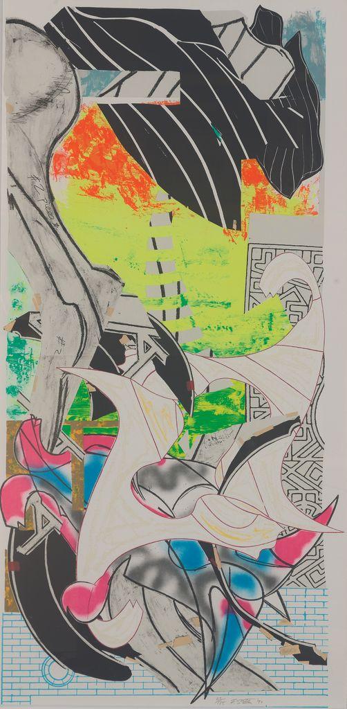 <em>Frank Stella, THE SYMPHONY, 1989, screenprint and lithograph</em>