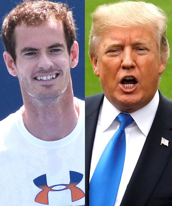 Tennis Star Andy Murray Mercilessly Mocks Donald Trump Over Time Magazine