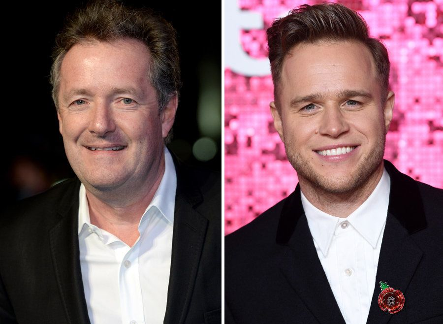 Piers Morgan Slams Olly Murs For 'Stirring Needless Panic' Over Oxford Circus Incident Tweets