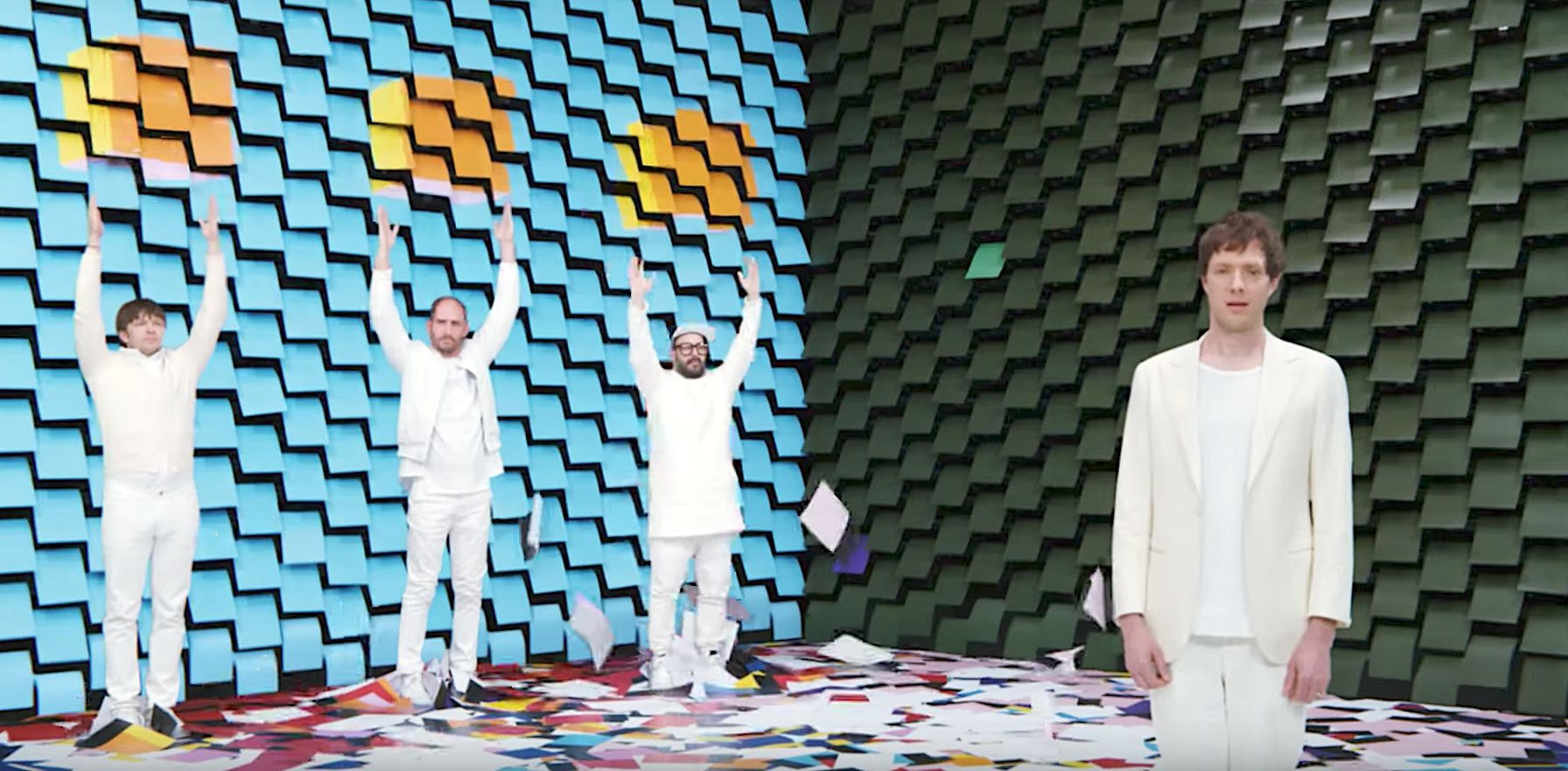 OK Go Makes Serious Paper With Hypnotising New Music