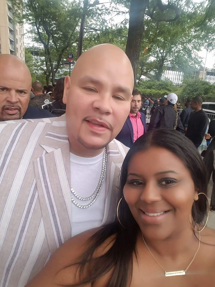 Syreta J. Oglesby  and Fat Joe, former client and Grammy nominated recording artist