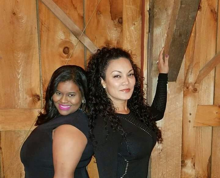 Syreta J. Oglesby and Egypt Sherrod, former client and HGTV Property Virgins  Host