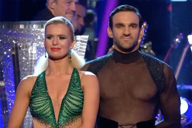 Davood's outfit got the judges hot under the