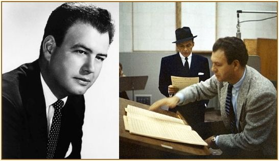 Nelson Riddle with Frank Sinatra