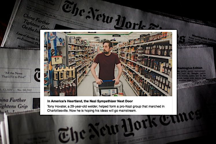 בילד: ניו יארק טיימס נארמאליזירט נעא-נאצי