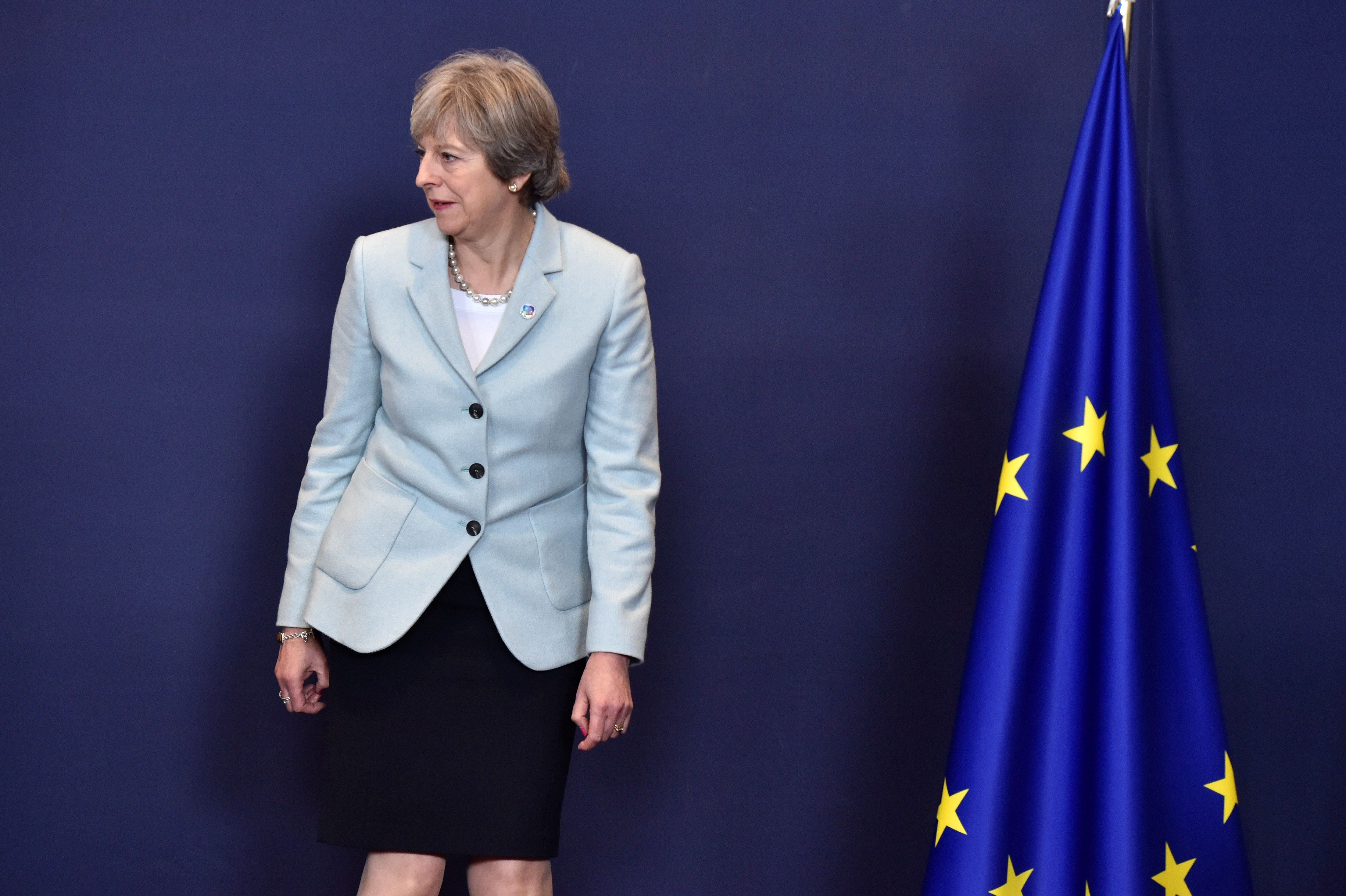 <strong>Prime Minister Theresa May has been urged to change her plans to deal with the Northern Irish border</strong>