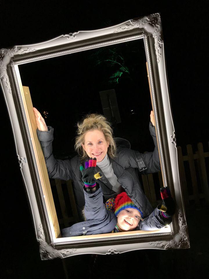 Illuminated Photo Frame Kew