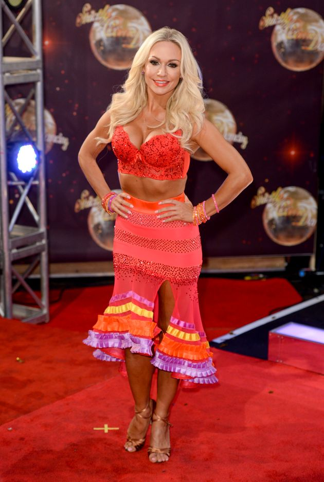 Kristina Rihanoff left 'Strictly'after the 2015