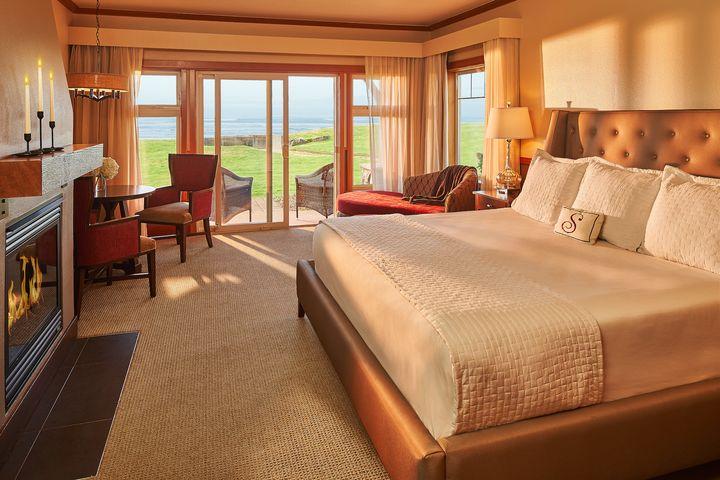 <p>Walk out suite at Stephanie Inn. </p>