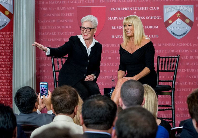 Dr. Arlene Krantz and  Suzanne Somers