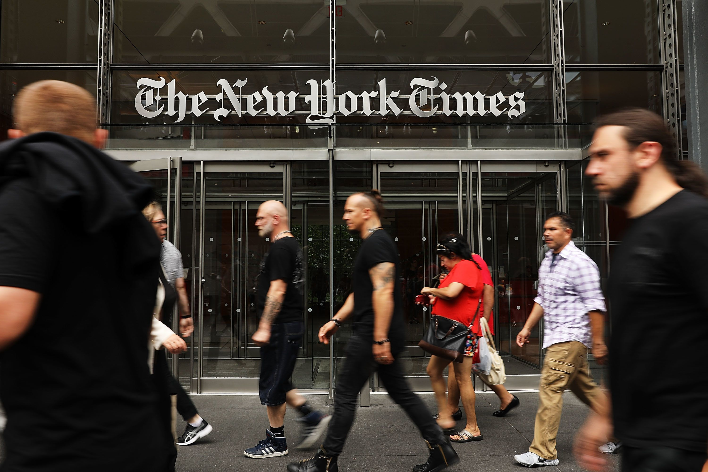 New York Times Defends Its Inflammatory Nazi Sympathizer