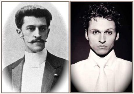 Johann Strauss Jr. and Daniel Isengart