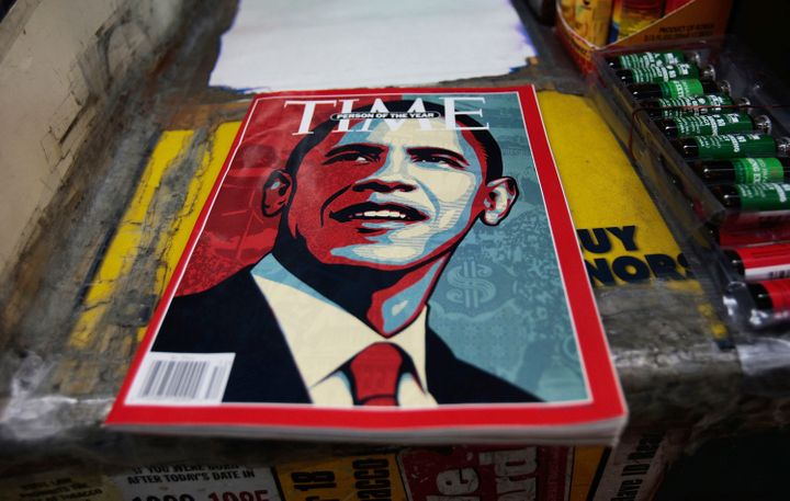 "Former President Barak Obama was named Time's ""Person of the Year"" in 2008, and again in 2012."