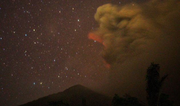 The last fatal eruption of the volcano was in