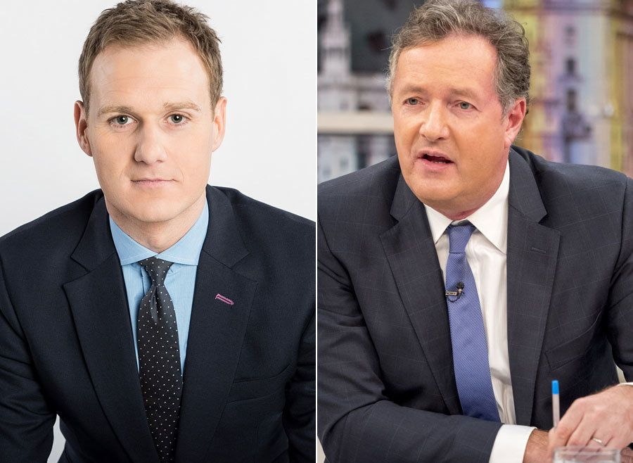 Piers Morgan Shut Down By Dan Walker Over 'BBC Breakfast'