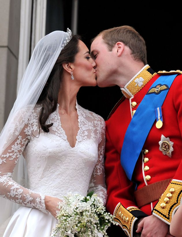 The day of William and Kate's wedding was made an official holidayon April 29,