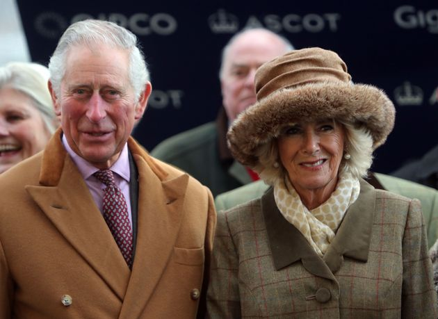 Prince Harry's father Prince Charles and Camilla Parker Bowles, the Duchess of