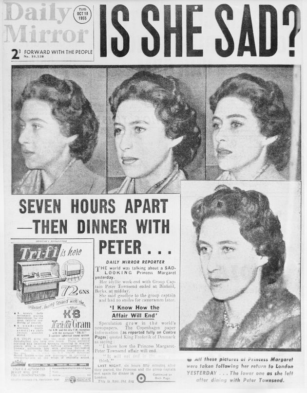Princess Margaret's doomed romance withGroup Captain Peter Townsend was played out in the