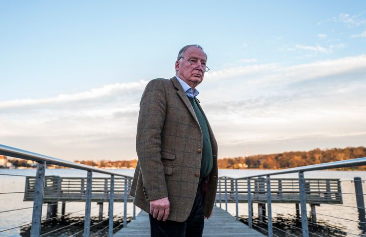 Alexander Gauland, co-leader of the AfD, poses for a photo on Nov. 23.