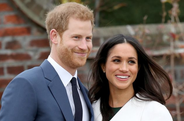 Actress Meghan Markle and Prince Harry on Monday, after announcing their
