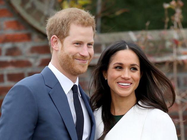 El príncipe Harry y Meghan Markle, tras anunciar su