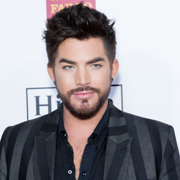"Adam Lambert celebrated the eighth anniversary of the release of his debut album, ""For Your Entertainment,"" with a revealing"
