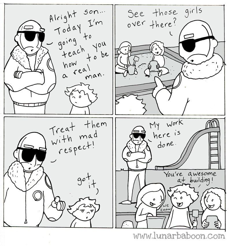 Dad's Sweet Comics Promote Empathy, Tolerance And