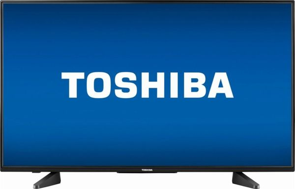 "Regularly: $349.99<br><a href=""https://www.bestbuy.com/site/toshiba-43-class-42-5-diag--led-1080p-with-chromecast-built-in-hd"